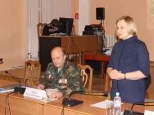 В брянской библиотеке известный журналист  представил новую книгу