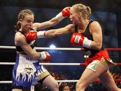 Брянская спортсменка победила на международном турнире по боксу