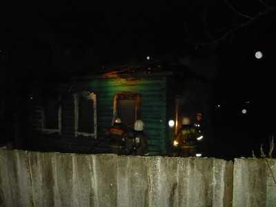 В Большом Полпине при пожаре погибли молодые супруги и их дочь