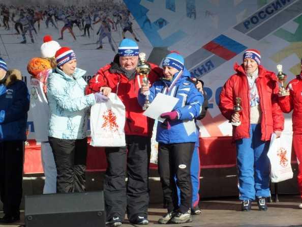 Брянские энергетики успешно выступили на «Лыжне России»
