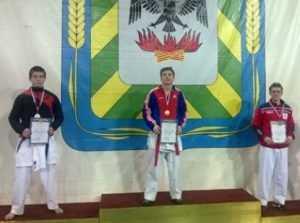 Брянские каратисты завоевали три медали на первенстве ЦФО