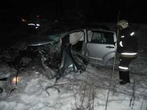 На брянской трассе уснувший водитель покалечил 18-летнюю девушку