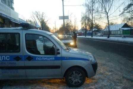 ГИБДД проведет сплошные проверки в Брянске 6 февраля