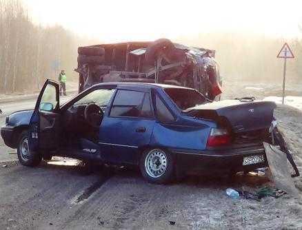 В ДТП на трассе Брянск – Новозыбков погибли два узбека