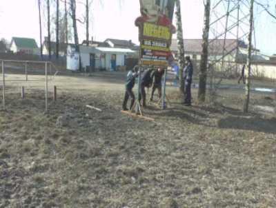 Брянские гаишники очистили трассу от рекламных щитов
