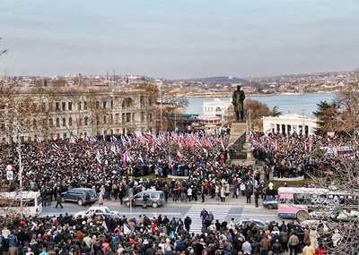 Брянцы выйдут на митинг в поддержку украинского народа