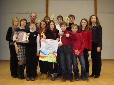 Брянские школьники победили на конкурсе юных талантов