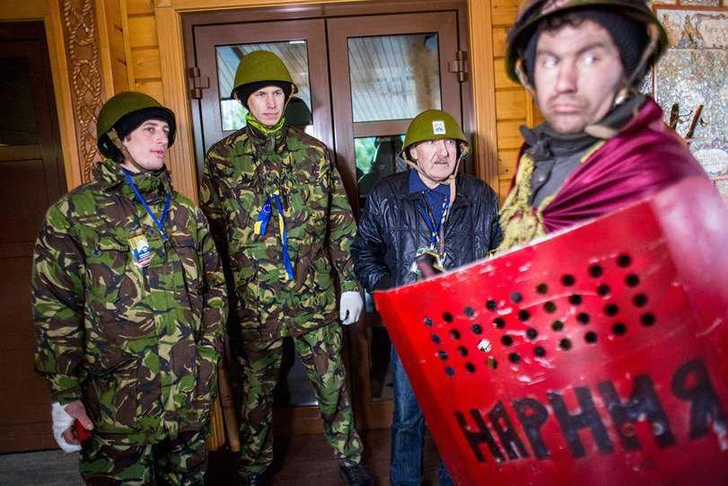 Ночные разбойники, напавшие на банк в Киеве, амнистированы
