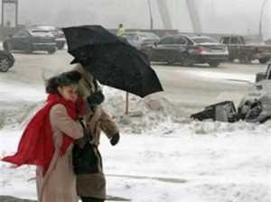 В выходные на Брянщине ожидается дождь со снегом и шквальный ветер
