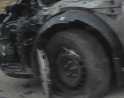 На трассе Брянск – Новозыбков столкнулись легковушки