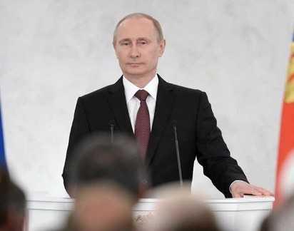 Путин: Крым – это исконно русская земля, а Севастополь – русский город