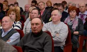 На встрече с губернатором жители Советского района Брянска помрачнели