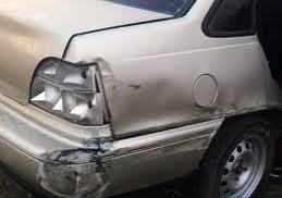 Пьяная брянская автомобилистка помяла машину ДПС