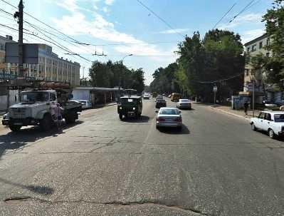 В Брянске иномарка сбила девушку на «зебре» и протаранила другое авто