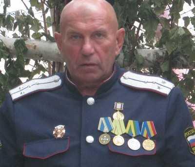 Севские казаки поздравили своего атамана с юбилеем