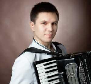 В Брянске прошёл концерт аккордеониста-виртуоза