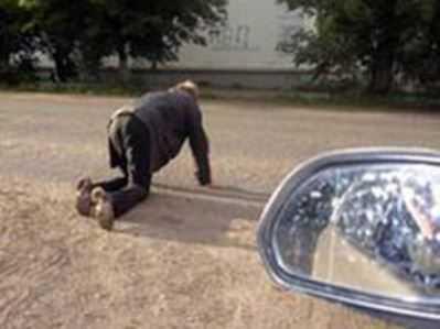 В Карачеве под колёса «Лады» угодил пьяный пешеход