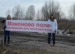 Многодетным брянским семьям предложили жить на кладбище и на болоте