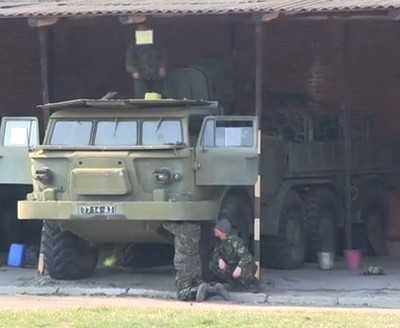 У брянских соседей на Украине подожгли отделение Сбербанка