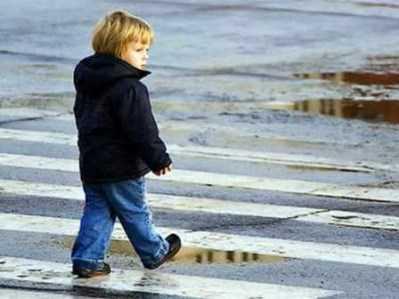 Брянская полиция нашла заблудившегося ребёнка