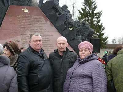 Из Пскова вернулись родственники брянских героев, погибших в Чечне