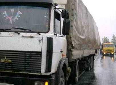 На трассе Брянск – Новозыбков столкнулись два белорусских грузовика