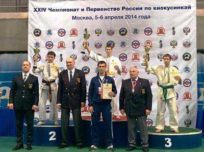 Брянский каратист выиграл первенство России