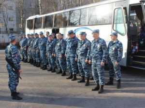Брянские полицейские отправились на Северный Кавказ