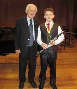 Юный брянский кларнетист победил в международном конкурсе