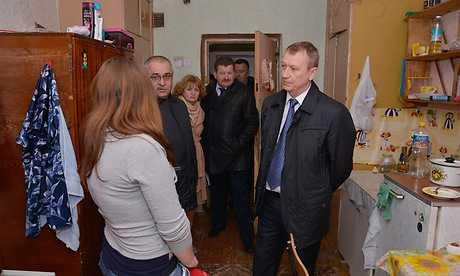 Брянский губернатор поразился строительной разрухе у строителей