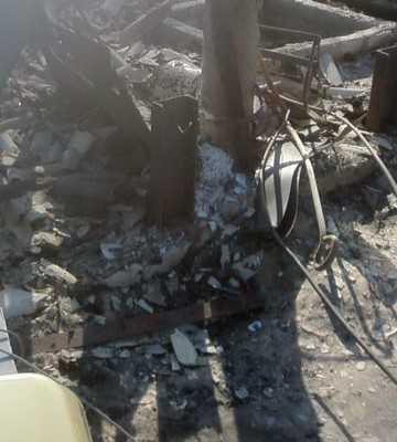 Власти бросили жителей  сгоревшей брянской деревни и плачущего аиста