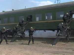 Брянская полиция провела учения на железной дороге