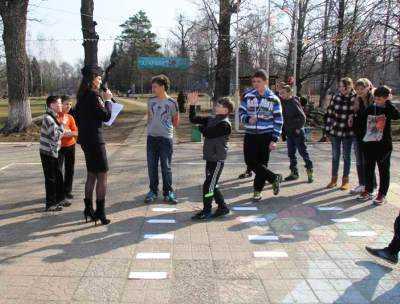 Гаишники провели урок безопасности для ребят в брянском санатории