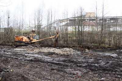 В Радице-Крыловке очистили водный канал