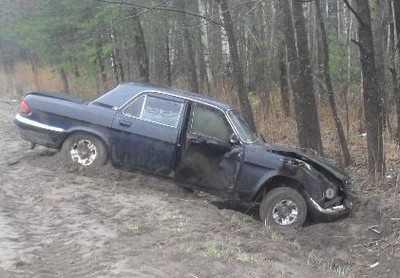 Брянский водитель слетел с трассы «Украина» и покалечил женщину