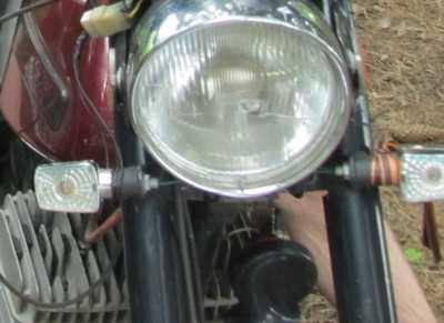 Брасовский мотоциклист врезался  в столб и погиб