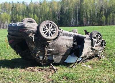 Водитель из Рославля проломил голову на брянской дороге