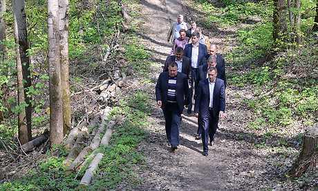 В парке Соловьи брянский губернатор изрек гениальную мысль