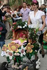 Парад колясок пройдет в Брянске 1 июня на площади Партизан