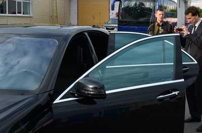 Лихой «мерседес» брянского губернатора попал в камеру