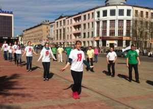 В воскресенье Брянск сделает массовую зарядку