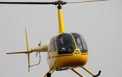 Брянскую границу начал контролировать украинец на частном вертолете