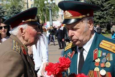 Брянцы празднуют День Победы