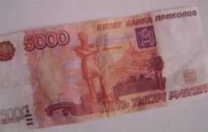 В банках Брянска нашли фальшивые купюры