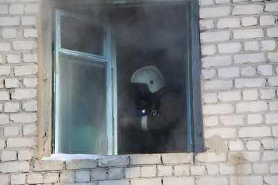 В брянской пятиэтажке случился пожар