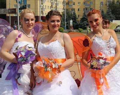 Парад невест пройдет в Брянске 6 июля