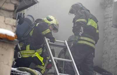 В Клинцах сгорел автомобиль