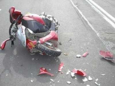 В Комаричском районе столкнулись и пострадали скутеристы