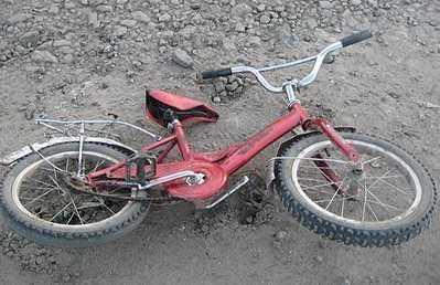 В Севском районе фургон сбил 6-летнего велосипедиста