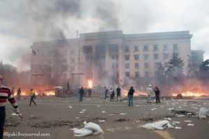Брянская очевидица рассказала о зверствах фашистов в Одессе 2 мая